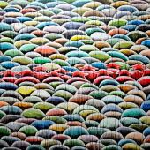 serie El Rebaño. Interferencia, 2013. Acrílico sobre lienzo / 155 x 230 cm