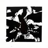 serie Cubos, 2014 / Esmalte industrial sobre lienzo / 90 x 90 cm