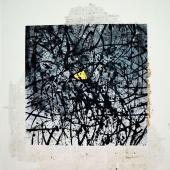 serie Cubos, 2014 / Acrílico sobre lienzo / 90 x 90 cm