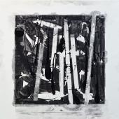 serie Cubos, 2014 / Mixta sobre tela / 150 x 150 cm