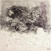 Kueste, 2012 / Mixta sobre tela / 60 x 60 cm