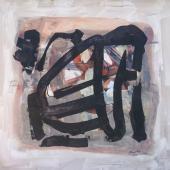 serie Mundos, 2012 / Acrílico sobre lienzo / 120 x 120 cm