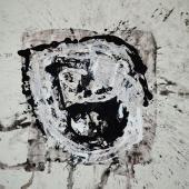serie Mundos, 2014 / Acrílico sobre tela / 90 x 90 cm