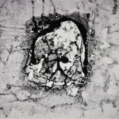 serie Mundos, 2014 / Acrílico sobre lienzo / 90 x 90 cm